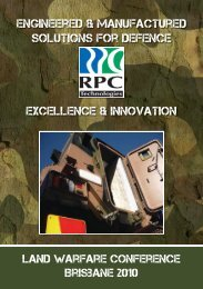 Engineered & manufactured solutions for Defence Excellence ...