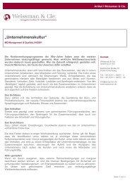 Download - Weissman & Cie. GmbH & Co. KG International ...