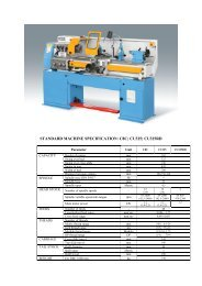 standard machine specification: c8c; cu325; cu325rd - Surplex