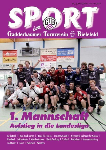 GTB Zeitschrift 06-08:Juni - Gadderbaumer Turnverein v. 1878 eV ...