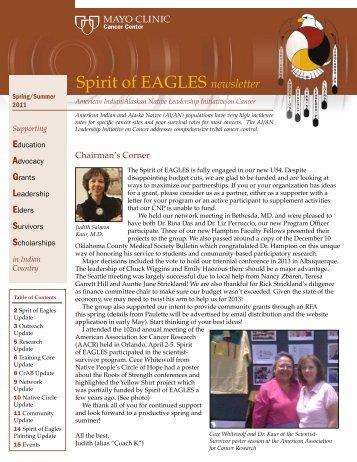 Spring / Summer 2011 - Native American Programs