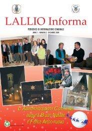 L'Amministrazione Comunale augura Buon ... - Comune di Lallio