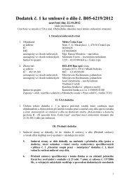 Smlouva o dilo - dodatek c.1 - HELIOS BAU.pdf - Město Česká Lípa