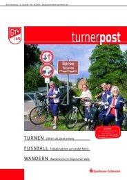 Turner Post - Gütersloher Turnverein von 1879 eV