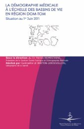 Atlas 2011 de la démographie dans les DOM-TOM - Conseil ...