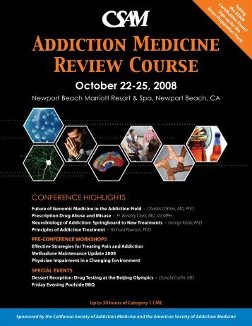 Addiction Medicine Review Course - California Society of Addiction ...