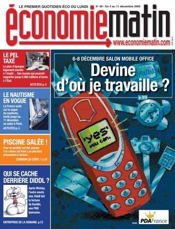 ACTU ÉCO - Watine Taffin - Free