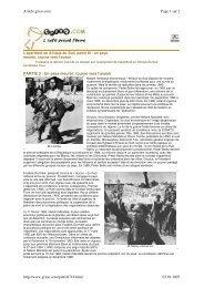 système haineux de l'apartheid en Afrique du Sud - CRAN