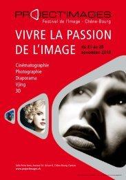 VIVRE LA PASSION DE L'IMAGE du 23 au 28 - Photographes Suisses
