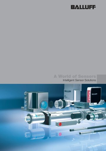 www .balluff.com - Sensors 4 Industry