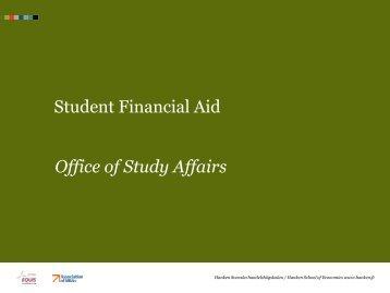 Student Financial Aid - Svenska handelshögskolan