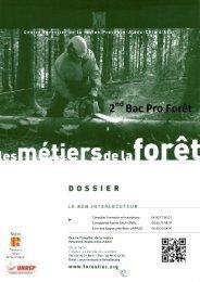 2 nde pro - Le Centre Forestier de la région Provence-Alpes-Côte d ...