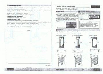 coffres tunnels volets roulants stbs volets roulants. Black Bedroom Furniture Sets. Home Design Ideas