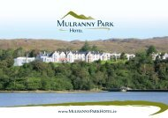 Where e land meets e sea - Mulranny Park Hotel