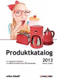 Katalog 2013.indd - EKT GmbH WebShop