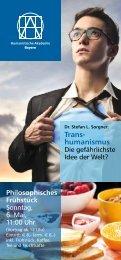 Trans- humanismus - HVD-Bayern
