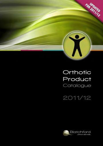 960446 Orthotic Product Catalogue Lo.pdf - Blatchford