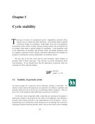 Chapter 5 - Cycle stability - ChaosBook