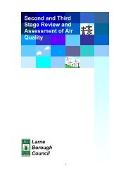 Second and Third Stage Review and Assessment of Air Quality
