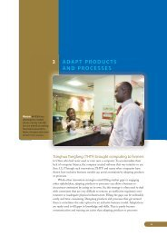 Adapt Products and Processes - Growing Inclusive Markets