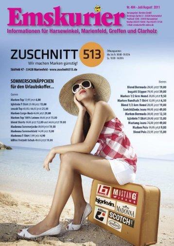 Informationen für Harsewinkel, Marienfeld, Greffen und Clarholz