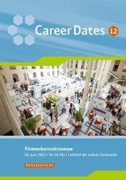 Messekatalog der Career Dates 2012 - Career Service - Leibniz ...