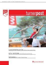 Turnerpost 2 2006 - Gütersloher Turnverein von 1879 eV