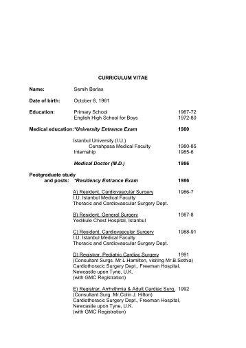Curriculum Vitae Markus Heilig 591014 2776 School Of Medicine