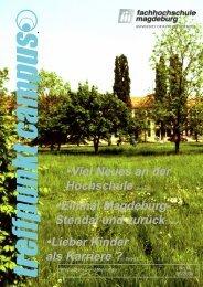 Lieber Kinder als Karriere - Hochschule Magdeburg-Stendal