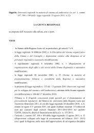 Interventi regionali in materia di cinema ed audiovisivo - Anica