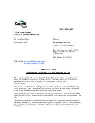 Cargill Salt Wins Outstanding Environmental Engineering Award