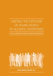 limiting the exposure of young people to alcohol advertising - Drugs.ie