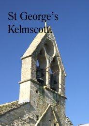 Kelmscott Church guide - Oxfordshire Cotswolds