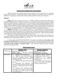 PASIŪLYMAS DARBUOTOJŲ DRAUDIMUI - I-Manager
