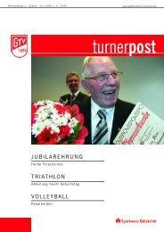 Turnerpost 1 2005 - Gütersloher Turnverein von 1879 eV