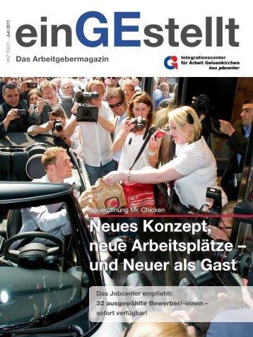 Neues Konzept, neue Arbeitsplätze - IAG Gelsenkirchen