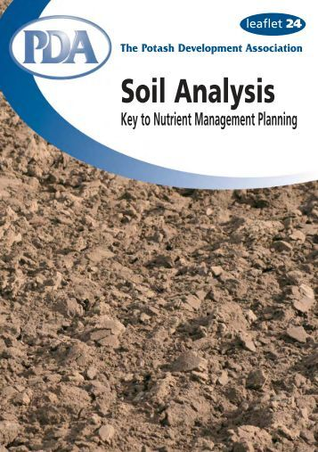 Soil science step by step field analysis soil science for About soil science