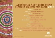 aboriginal and torres strait islander significant dates ... - Headspace