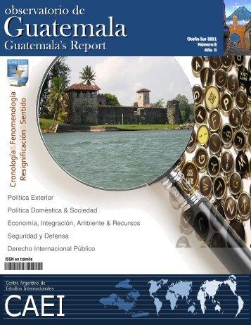 Observatorio de Guatemala N° 8 - CAEI
