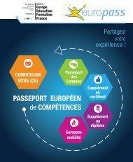Dépliant Europass - avril 2013 - Agence Europe-Education ...