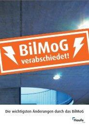 Die wichtigsten Änderungen durch das BilMoG - Haufe Shop