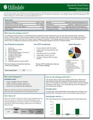 Fund Fact Sheet (PDF) - Hillsdale Investment Management