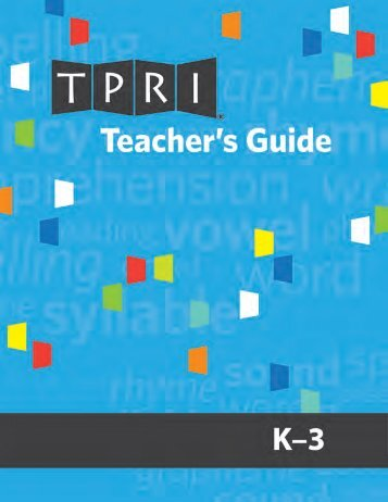 Teacher's Guide - Brookes Publishing Co.