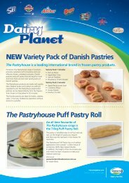 NEW Variety Pack of Danish Pastries - Fonterra Foodservices