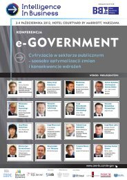e-GOVERNMENT - Blue Business Media