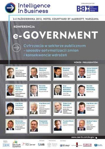 e-GOVERNMENT - Blue Business Media