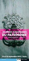DU PATRIMOINE - Ministère de la Culture et de la Communication