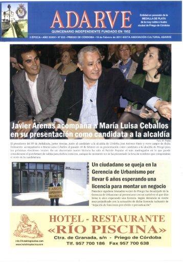 «RIO PISe NA» - Periódico Adarve