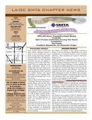 April 2003 Newsletter: [view PDF] - Laocsmta.org