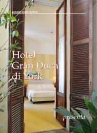 Hotel Gran Duca di York Hotel Gran Duca di York - Golden Book ...